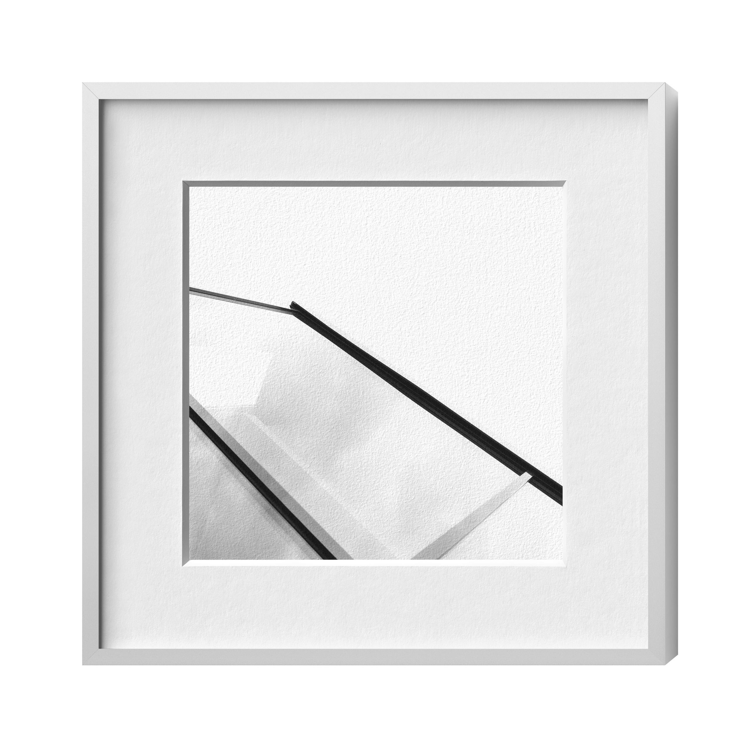 Conservo Alu 8, Silber matt, Plexiglas glä., 210 x 210 | HALBE-Rahmen