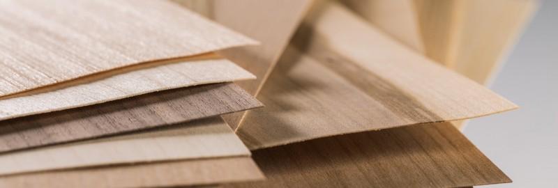 Echtholzfurnier verschiedene Holzarten