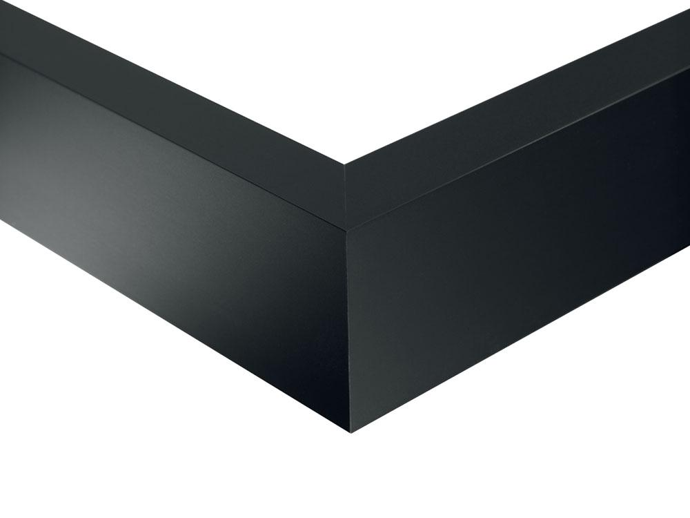 Alu-schwarz-matt