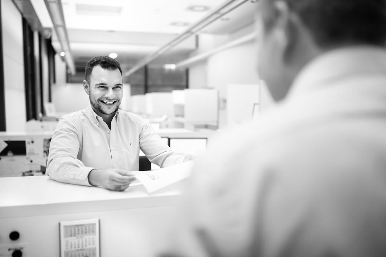 Customer Service interne Absprache
