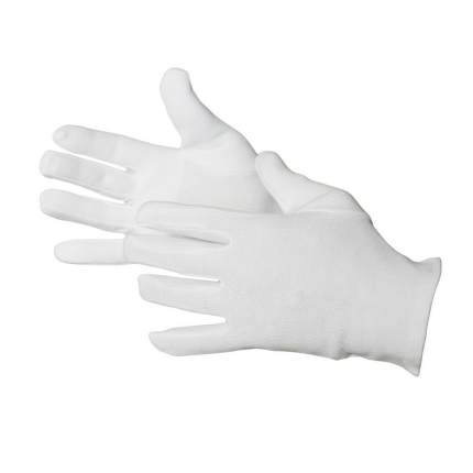 Cotton gloves (pair), size 10