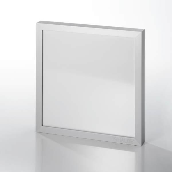 Beispiel: Alu 14 Silber matt, mit Logo