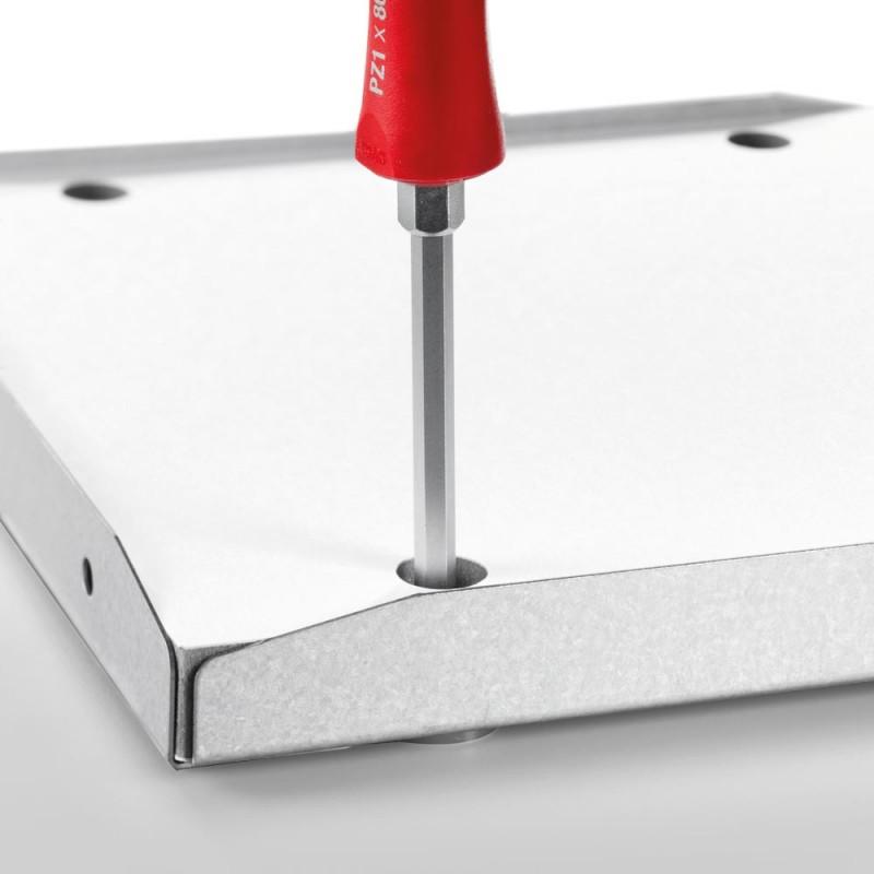 Bildsicherung BS3 - Sicherung des Rahmens an der Wand