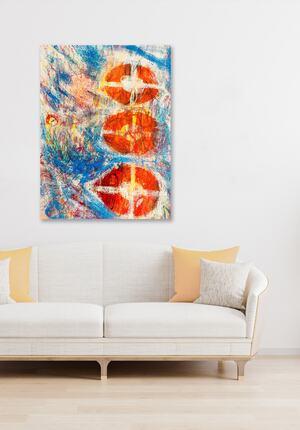 Wie Sie am besten Acrylbilder aufhängen