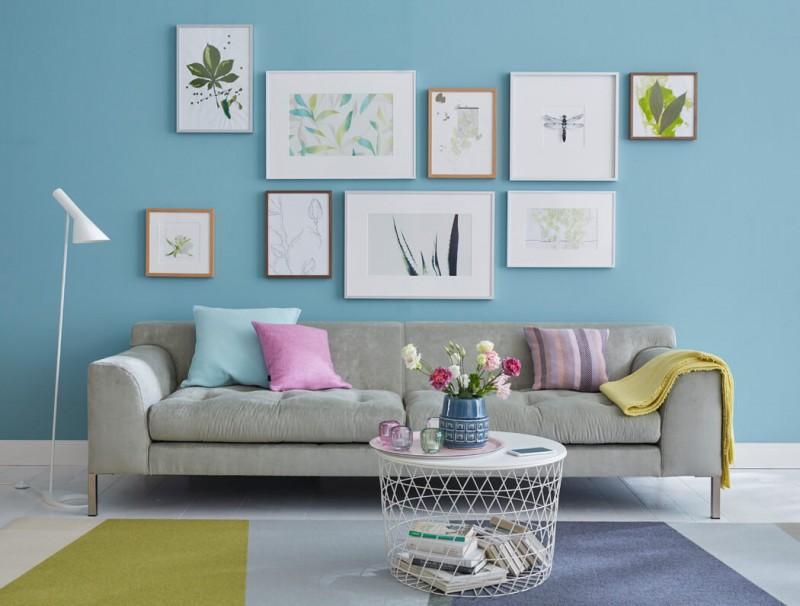 Bilderrahmen Anwendung im Wohnzimmer