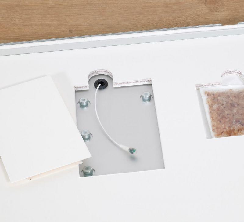 Zur Kontrolle der Luftfeuchtigkeit kann der Protect-Rahmen mit einem Datenlogger ausgestattet werden
