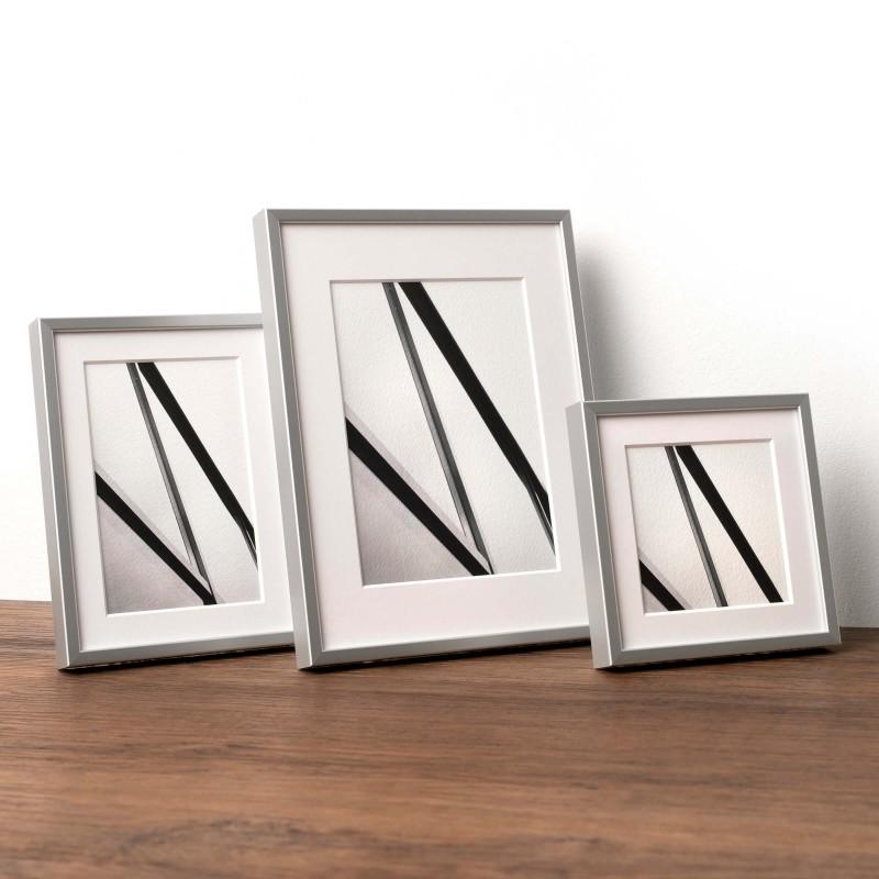 Fotorahmen online kaufen - aus Holz oder Alu | HALBE Rahmen