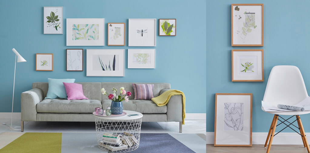 Tips for designing picture frames / in the living room