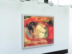Munchmuseet Oslo - Innenrahmen von HALBE