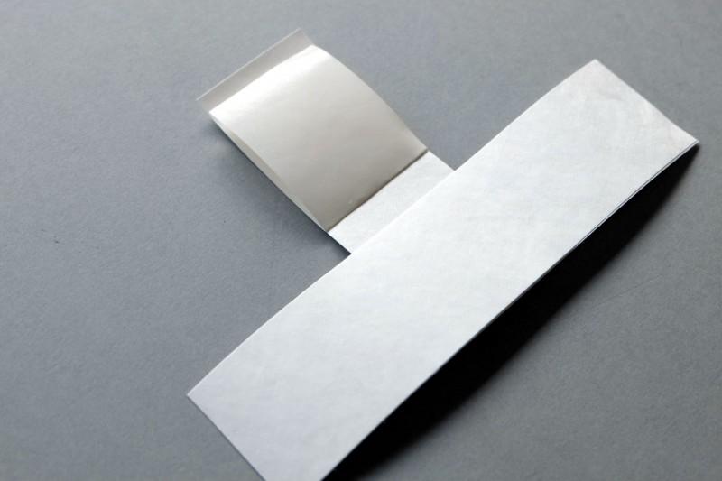 Silikonpapier aufkleben - Frei montiert mit T-Falz im Distance Rahmen