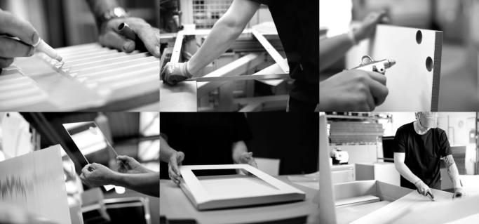 Bilderrahmen für den Ladenbau - für einfachen Bildwechsel
