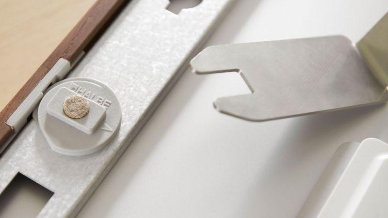 Protect-Magnetrahmen Rueckseite Verschluss