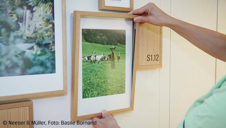 Räume mit Bilderrahmen einheitlich gestalten