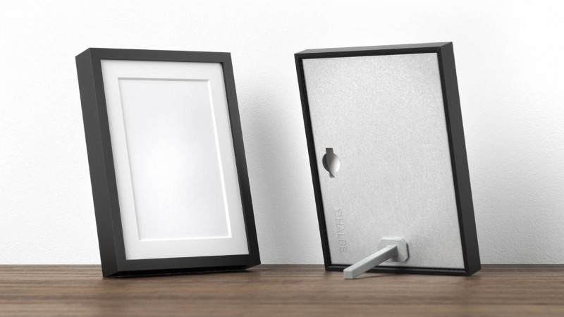 Photo frame with frame stand