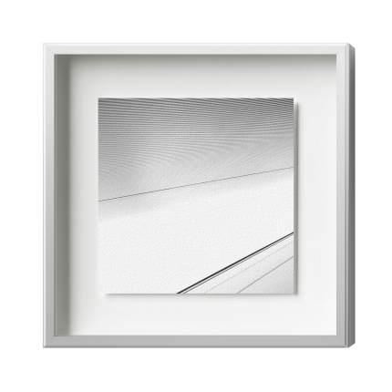 Distance-Magnetrahmen, Alu 12, Silber Matt
