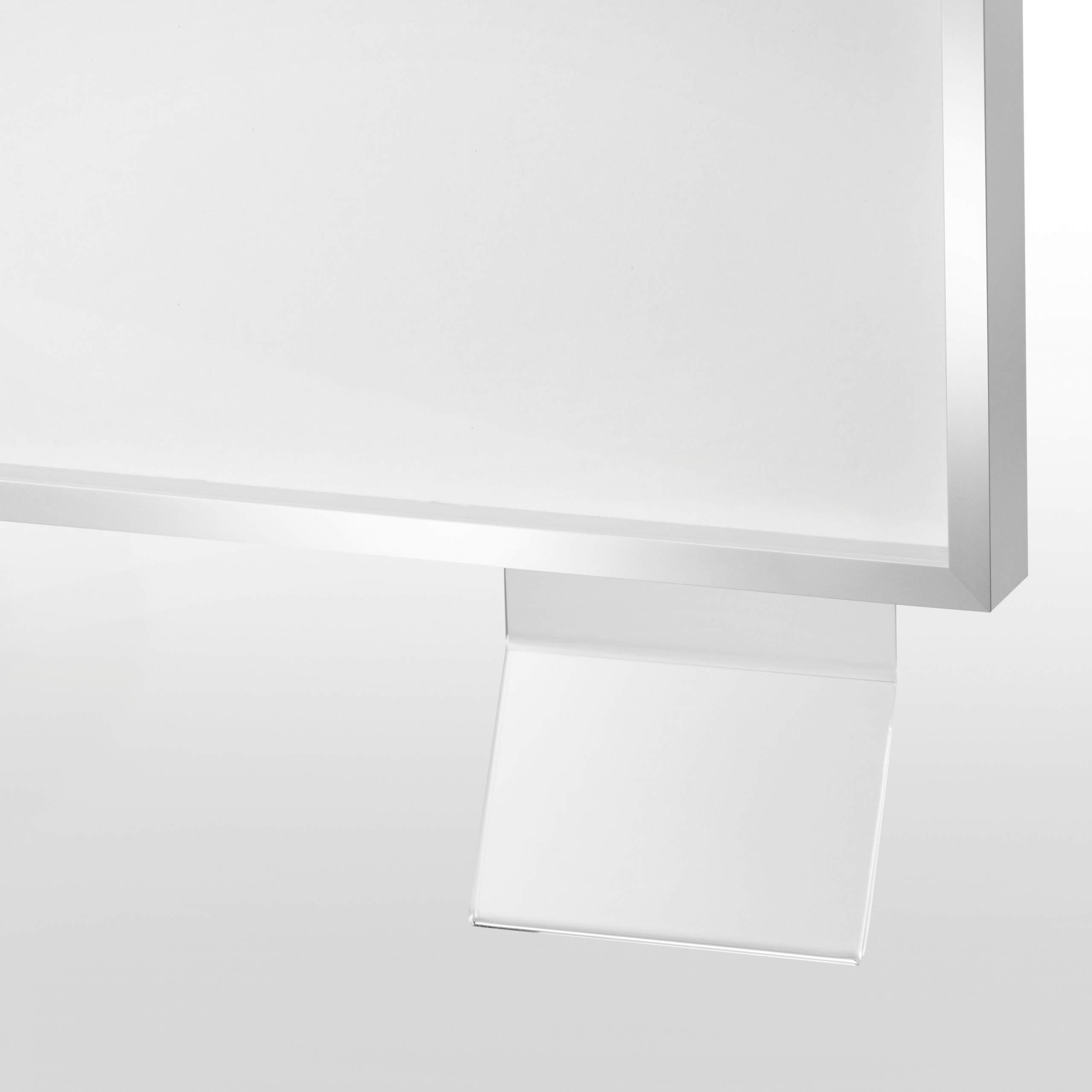 Halter für Titelkarte, aus Acryl, kantenpoliert | Ausstellung ...