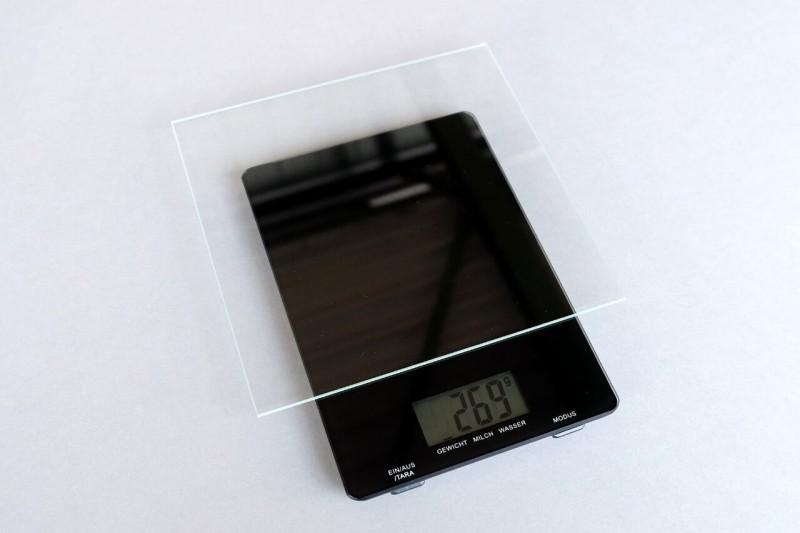 Normalglas Bilderglas Gewicht