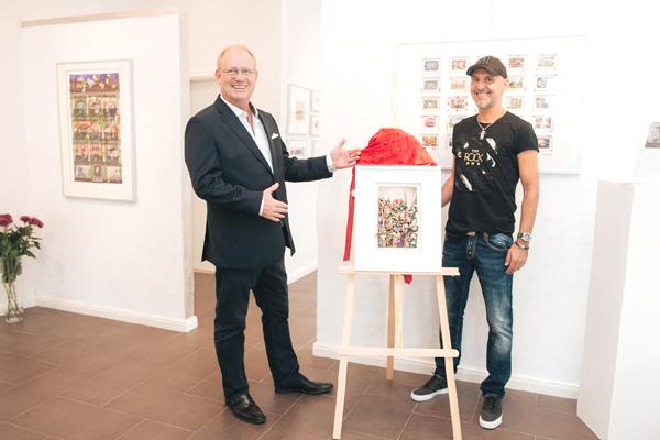 Eröffnung Kunstgalerie ArtHB - Kelber und Branko