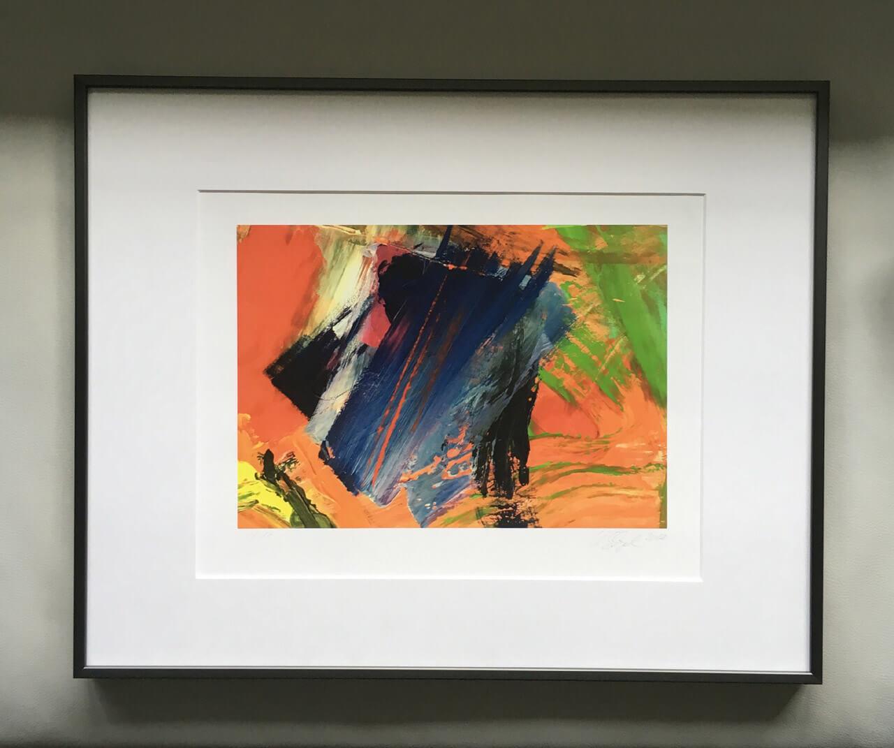 "Ursula Schregel ""haut en couleur"" im halbe-rahmen"