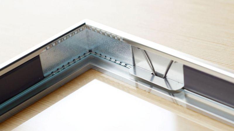 Display-Magnetrahmen Rahmen Glasfix